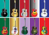 Guitar — Stock Vector