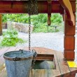 Stock Photo: Retro Wishing Well