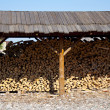 Stock Photo: Woodpile