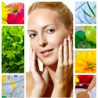 Stock Photo: Beauty and health