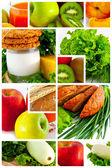 食品。水果和蔬菜. — 图库照片
