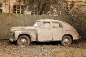 Vintage old retro mobile — Stock Photo