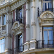 Apartment building in Madrid — Stock Photo