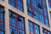 Madrid financial centre — Stock Photo