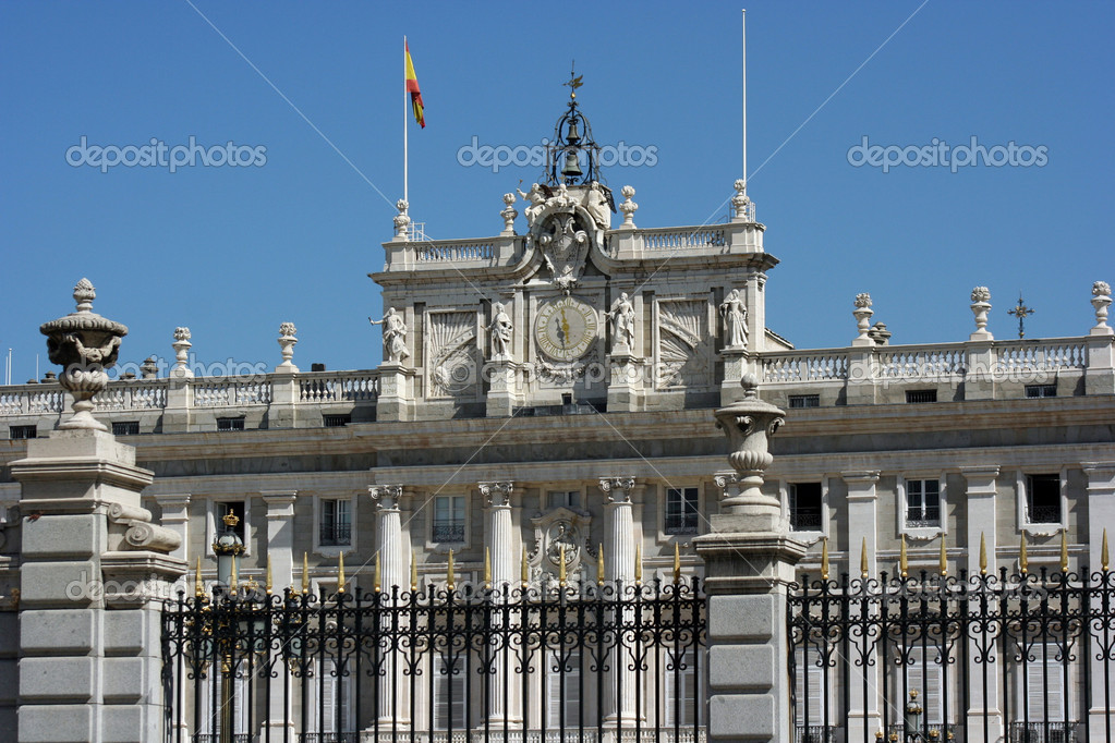 Arquitectura de Madrid. Spain — Stock Photo #3965114