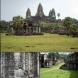 Camboya Angkor Wat Temple - Stock Photo