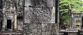Bayon on of Angkor Wate Temple,Camboya — Stock Photo