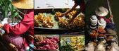 Thailand Domnoen Saduak Water Market — Stock Photo