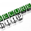 Secure Site — Stock Photo