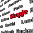Skopje — Stock Photo