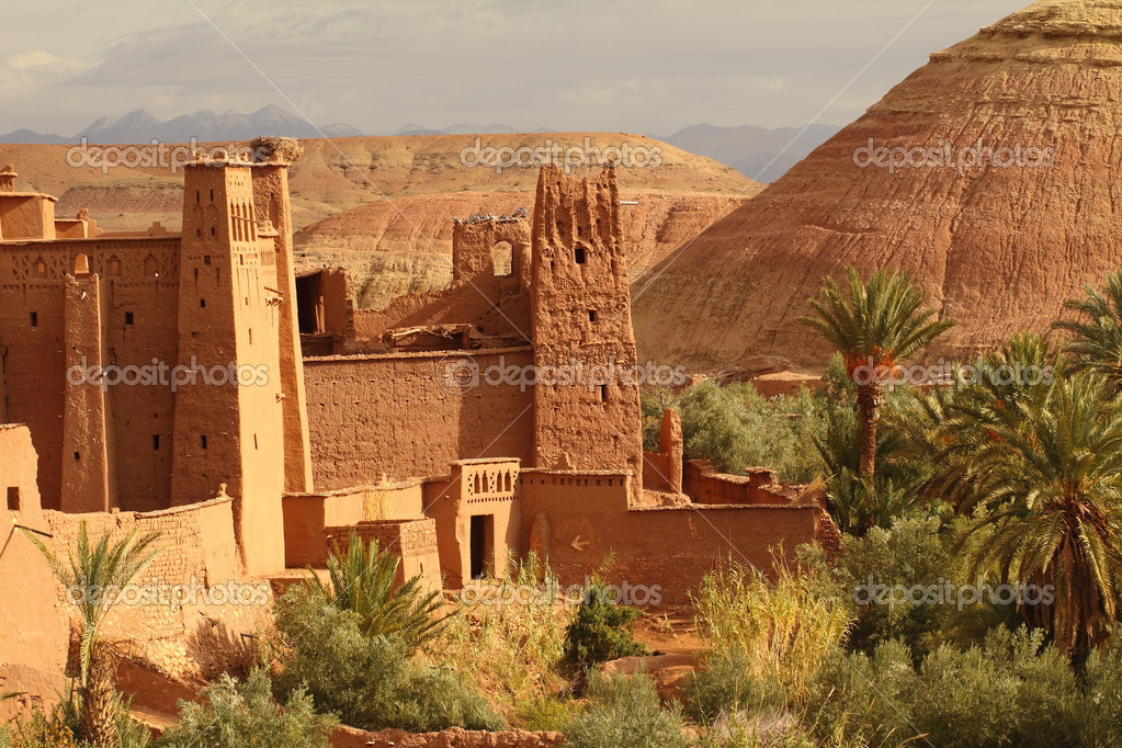 Ait Ben Haddu Marocco — Stock Photo #4584010