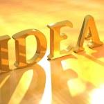 IDEA Sign — Stock Photo