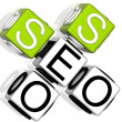 Seo Service Crossword - Foto Stock