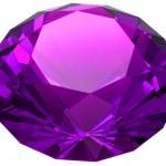 Isolated beautiful gem — Stock Photo