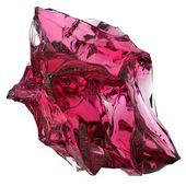 Isolierte schöne Kristall — Stockfoto
