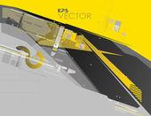 Hi-tech pozadí — Stock vektor
