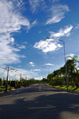 Weg manier rayal park — Stockfoto