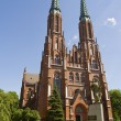 Church in warsaw — Stock Photo