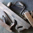 Old hand tools — Stock Photo