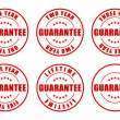 Guarantee Stamps Collection — Stock Photo