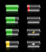 Batteries charges — Stock Photo
