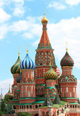 St.Basil Cathedral, Red Square — Stock Photo
