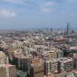 Stock Photo: Panoramic view of Barcelona, Spain
