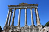 Saturn Temple on the Forum — Stock Photo