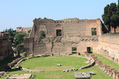 Ruins of the Palatine and Roman Forum, Rome — Stock Photo