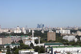 View on the buildings of Moscow — Stock Photo