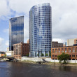 Stock Photo: Architecture of Grand Rapids