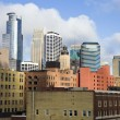 Colorful Buildings in Minneapolis — Stock Photo #3575095