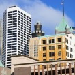 Stock Photo: colorful buildings in minneapolis