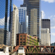Buildings along Chicago River — Lizenzfreies Foto