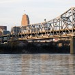 Bridge between Ohio and Kentucky - Stockfoto