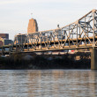 Bridge between Ohio and Kentucky — Stock fotografie #3575406