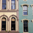 Historic buildings in Lexington - Stock Photo