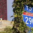 To Interstate 290 — Stock Photo