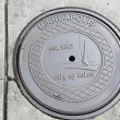 Stock Photo: Manhole