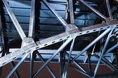Ponte azul em cleveland — Fotografia Stock