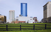 Lexington behind the fence — Stock Photo