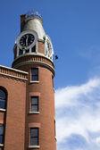 Wieża zegarowa w louisville — Zdjęcie stockowe