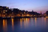Evening in Amsterdam — Stock Photo