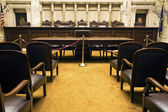 Court Room — Stock Photo