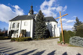 Church sw. Piotra i Pawla in Kije — Stock Photo