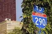 To Interstate 290 — Stock Photo