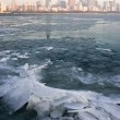 Стоковое фото: Freezy morning in Chicago