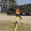 Surveying electric compound — Stock Photo