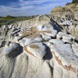 Stock Photo: Badlands Formations in Theodore Roosevelt National Park