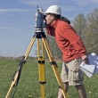 Stock Photo: Surveyor at Work